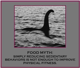 Loch ness myth, food myths, secondscount.org, scai, eat right, exercise, heart healthy, physical activity